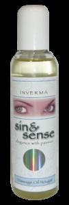 INVERMA sin & sense Massage Oil Nougat